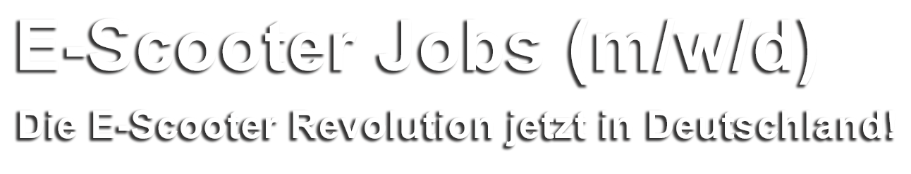 E-Scooter Jobs