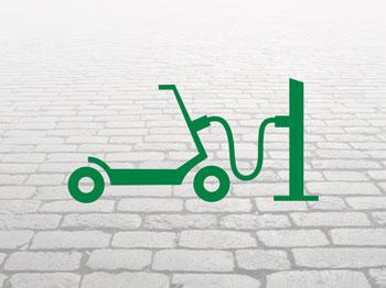 Helfer-Logistik-E-Scooter